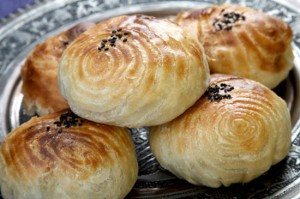oriental pies with lamb -  samsa